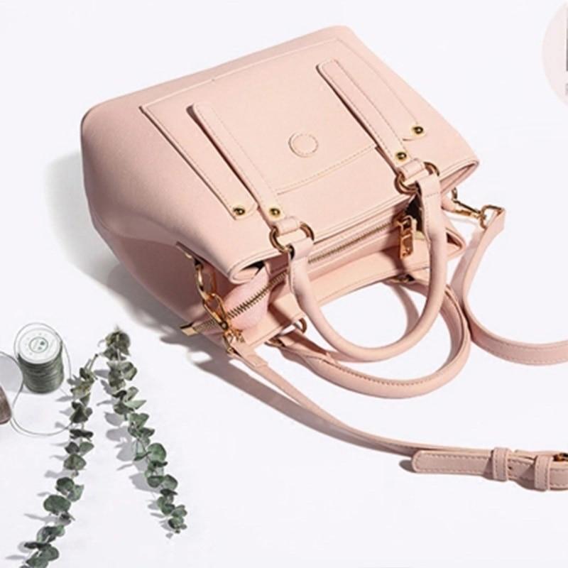 купить TINYAT Brand Designer Women Shoulder Bag Soft PU Female Handbags Newest Fashion Ladies Messenger Bags Casual Women Tote Bag zm8 недорого