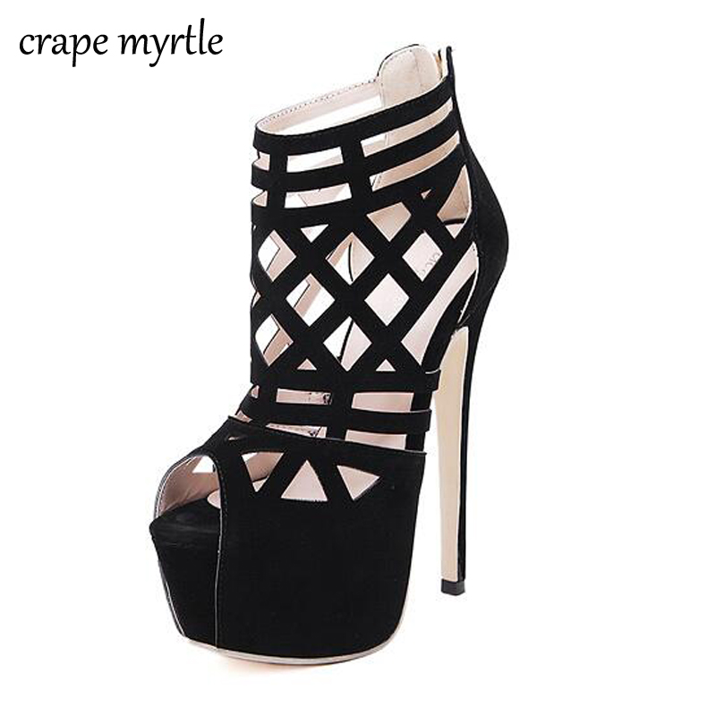 ladies Sandals 2018 ankle strap Sandals Summer boots Womens High Heel Shoes High Thin Strap Heels Women Causal Sandals YMA101