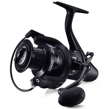 Fishing Spinning Reel 12+1BB 5.1:1 Carp Fishing Reel Casting Metal Spool Long Shot Left/Right Handle Saltwater Fishing Rod Reels mavllos saltwater fishing spinning reel 7000 8000 11000 aluminum alloy handle spool long shots jigging reel boat fishing reels