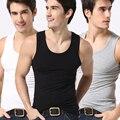 Men's Close-fitting Vest Fitness Male Tanks Underwear Male Underpants Type Sweat Men Underwear Clothes Solid Undershirts Cotton