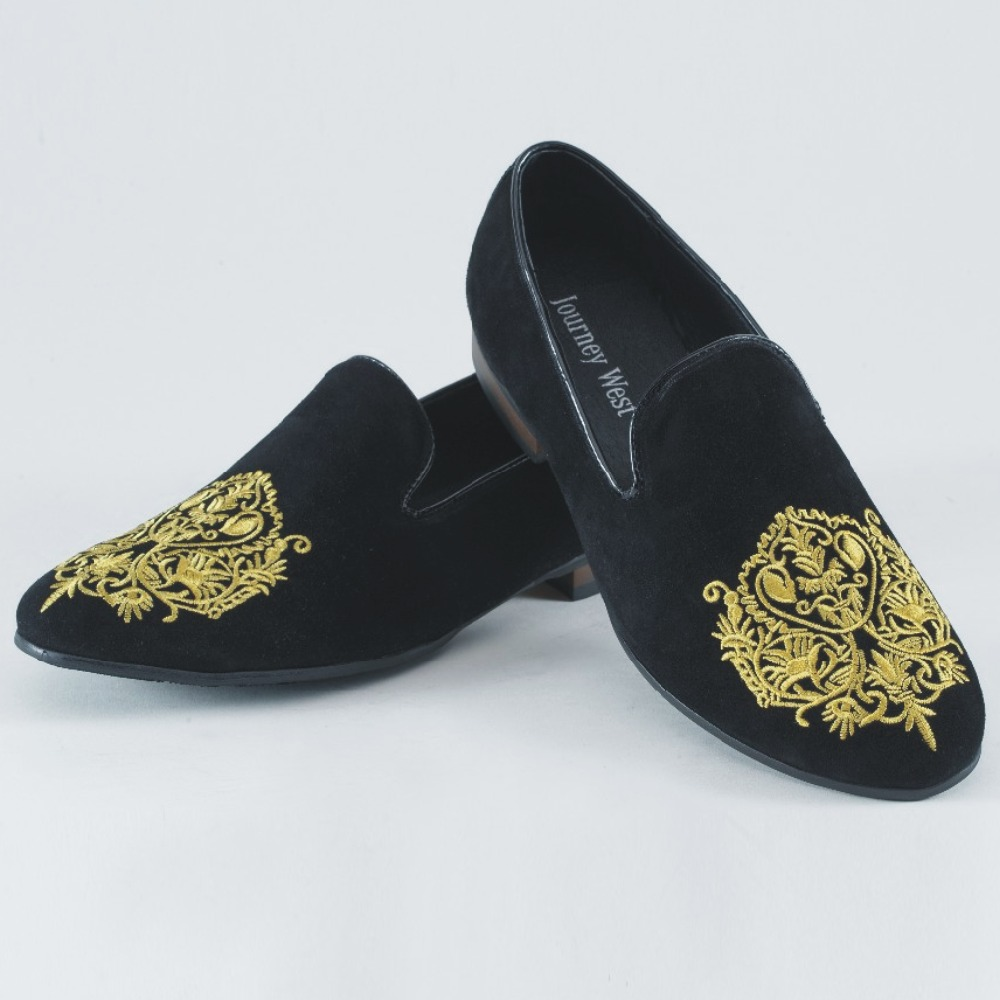 Mens Suede Tuxedo Shoes