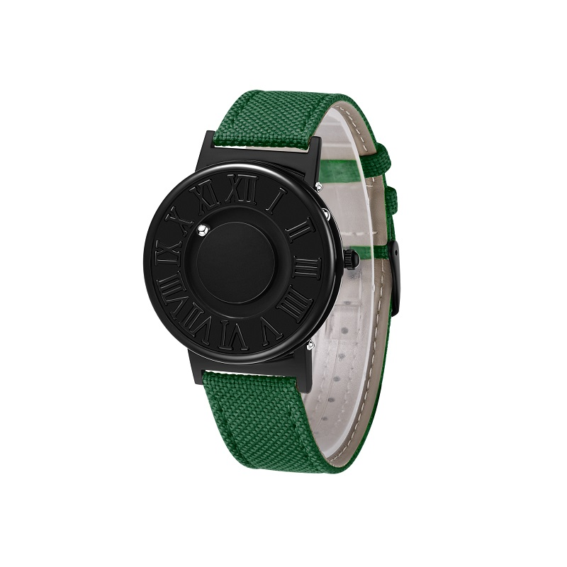 0EUTOUR Colors Canvas Strap watch man Magnetic Ball Quartz Watches Personify Waterproof Male Clock Simple Mimimalist Wristwatches (2)