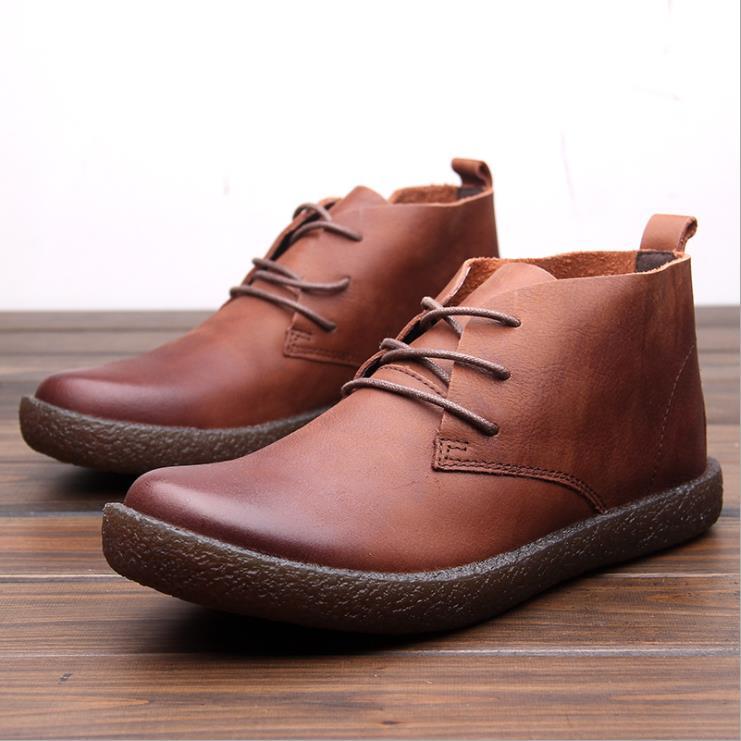 Tendencia Británico Zapatos Cuero Los Moda Herramientas Hombres Fondo Marca chocolate Negro Nuevos Otoño Del Tendón De La Casuales wwvB8g