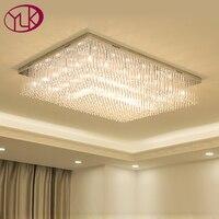 Manufacturers Wholesale Large New Lamps Modern Minimalist LED Crystal Ceiling Lights Living Room Bedroom