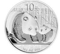 2011 Collection Silver Panda Coins 1oz S999 Silver Bar Pure Silver Chipper Silver Coins Souvenir