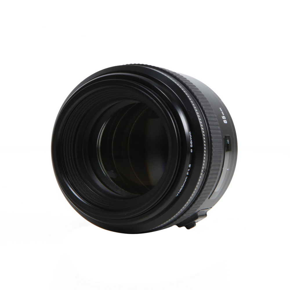 YONGNUO YN 85 мм F1.8 AF/MF Стандартный Средний телеобъектив EF крепление для Canon DSLR Объектив камеры 85 мм Фиксированная фокусная камера
