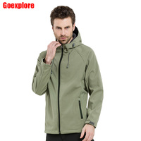 Lurker Shark Skin Soft Shell Outdoor Military Tactical Jacket Men Waterproof Windproof Sport Hunt Camouflage Army
