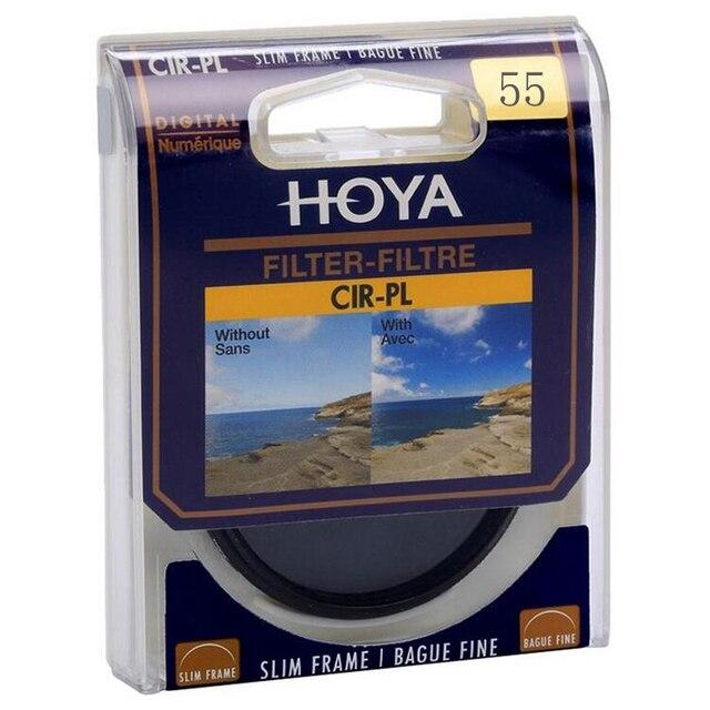 55mm Hoya Digital CPL Polarizing Filter Professional Lens Protector As Kenko Andoer CPL