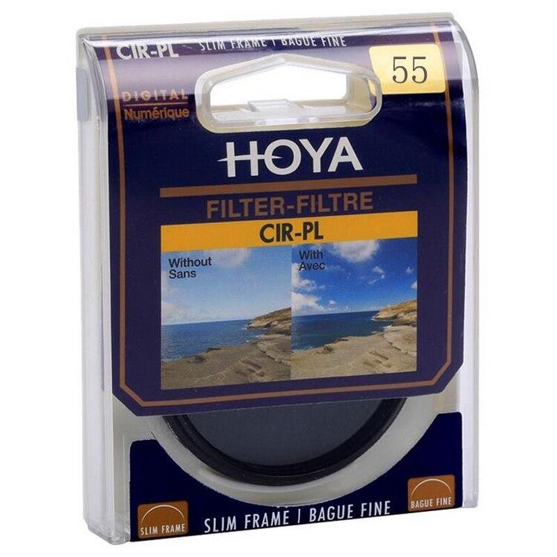 55mm hoya digital CPL filtro polarizador profesional lente protector como Kenko andoer CPL