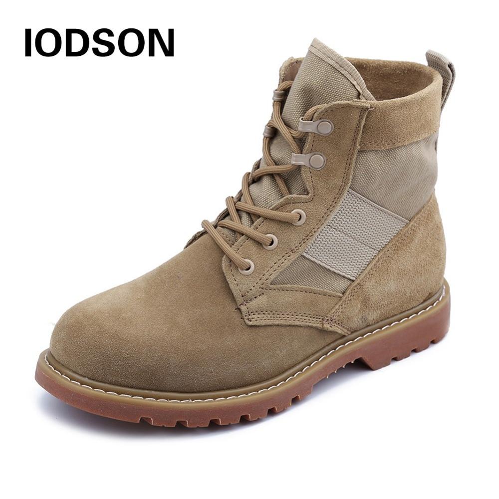 IDS-681D veekindel armee boot mehed sõjalised saapad Tactical Combat shoes hingav talv / suvi kõrbes saapad Suurus35-46
