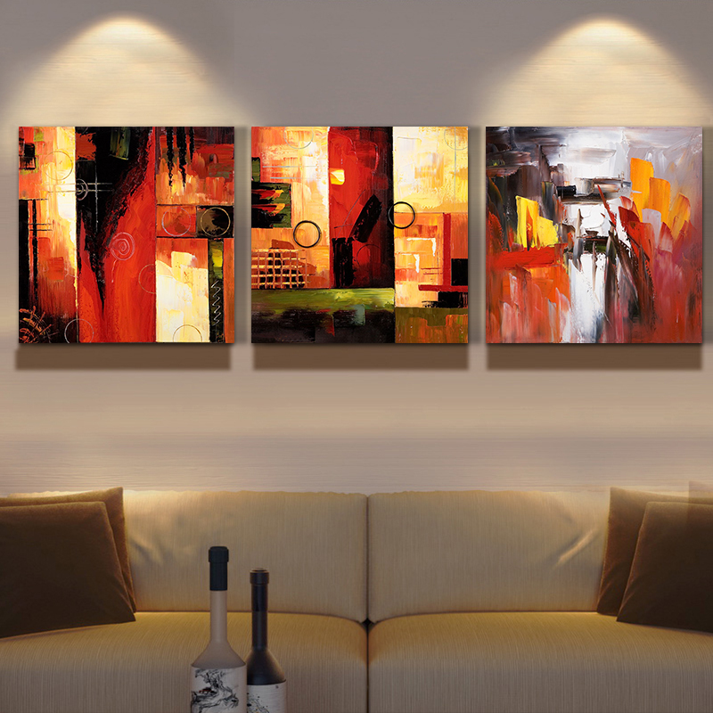 Cheap Sale Abstract Hand Painted Oil Painting On Canvas Wall Art Pictures For Home Decoration