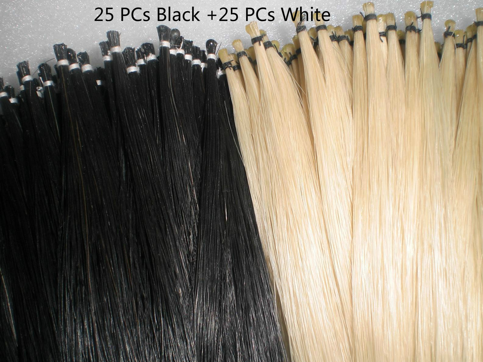 Horse Tail Hair Violin Bow Hair Cello Bow Hair Real Mongolia Horse Tail Hair 80cm To 85cm Length