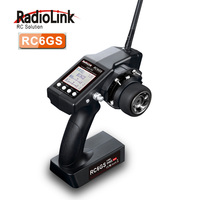 RadioLink RC6Gs 2 4G 6CH Car Controller Transmitter R6FG Gyro Inside Receiver For RC Car Boat