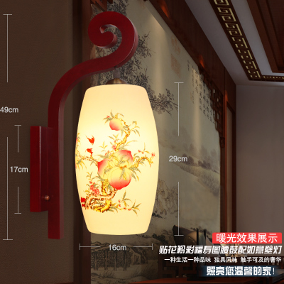 ФОТО led wall light modern 5W RGB AC85-265V surface mounted ceramic light fixture wall sconce bathroom KTV BAR decoration