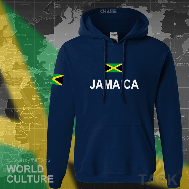 Jamaica hoodie men sweatshirt sweat new hip hop streetwear tracksuit nation footballer sporting country new flag JAM Jamaican 1