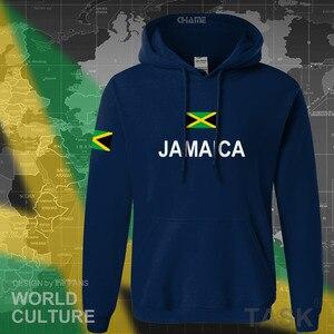 Image 2 - Jamaika hoodie erkek kazak ter yeni hip hop streetwear eşofman ulus futbolcu spor ülke yeni bayrak REÇEL Jamaika