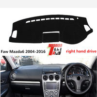 TAIJS Right Hand Drive Exquisite Style Car Dashboard Mat For Faw Mazda6 2004 2016 Adiabatic For