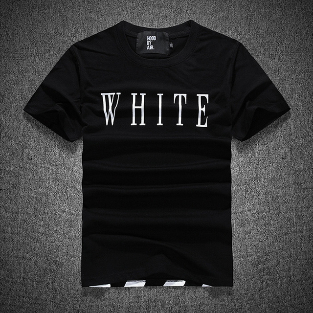 11112bb8ef80 2015 Off White Virgil Abloh T Shirt Men Fashion Brand Kanye West Fitness  Citi Trends T Shirts Men Clothing Styles tshirt HBA