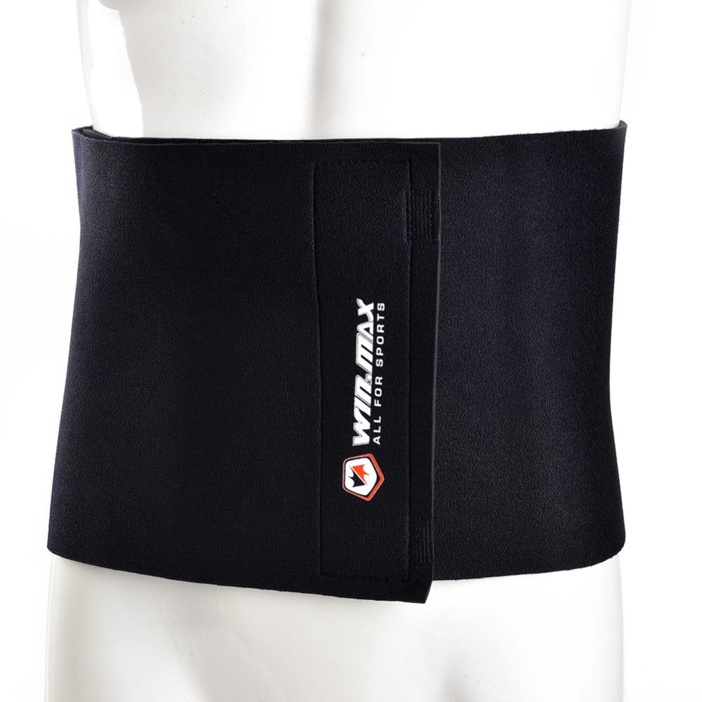 WinMax Echipament de Fitness Neopren Negru Reglabil Slimming Belt - Imbracaminte sport si accesorii