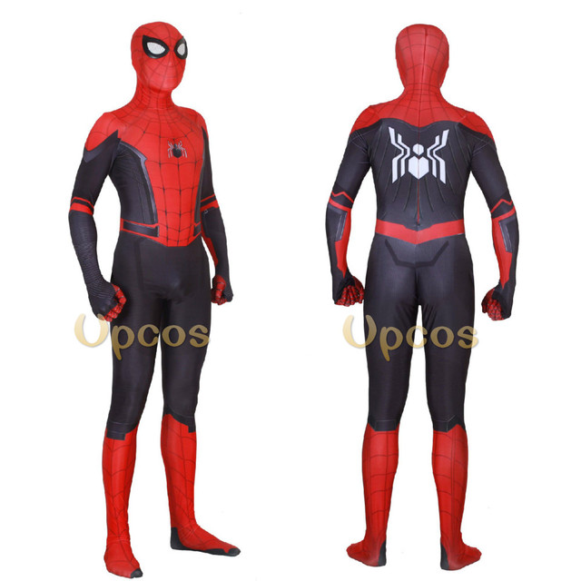 Wholesale 2018 Spiderman Costume Spiderman Homecoming Cosplay Costume Tom Holland Iron Spider Man Suit disfraz