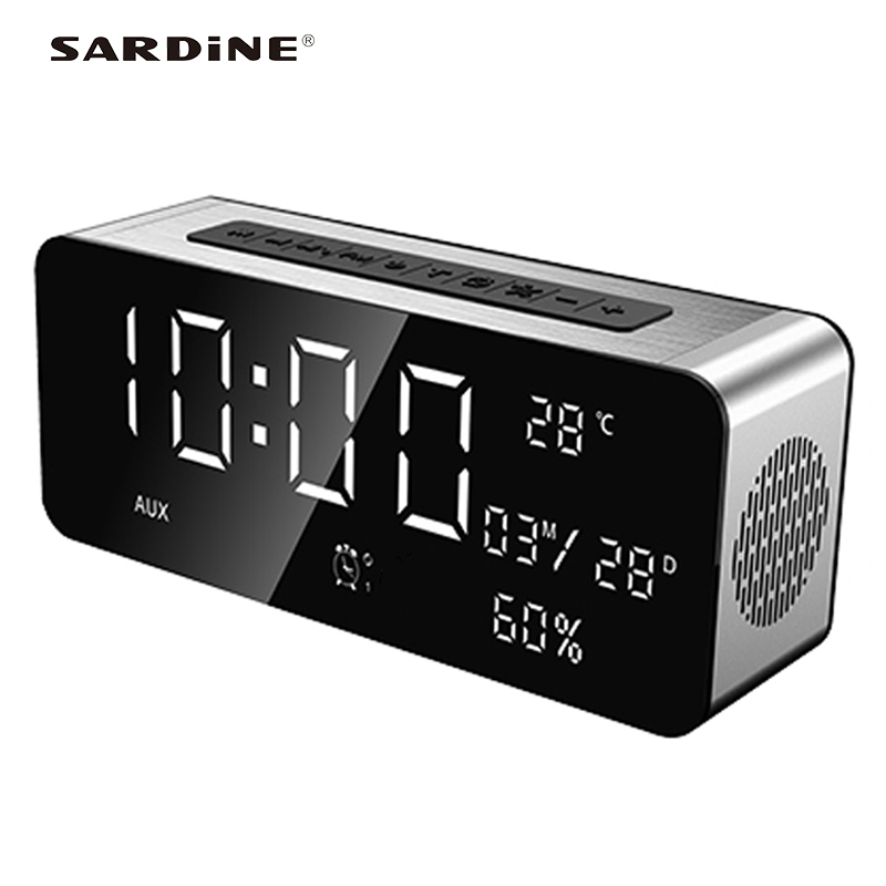 Sardine A10 portable wireless speaker TF USB <font><b>5000mAh</b></font> big power strong sound bluetooth box subwoofer speakers for iphone computer