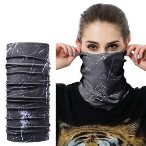 JAMONT Scarf Mask Headband Turban Face-Mesh Skull-Neck Outdoor Women for Braga Cuello