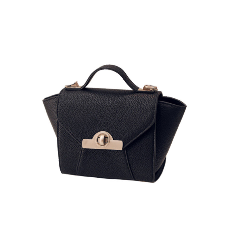 Exquisite Trapezoidal Hand Bag Women Stylish Patchwork Black font b Handbag b font Ladies Sweet Style