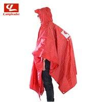 Campleader חיצוני 3 ב 1 משולב קמפינג מחצלת קמפינג דייג טיולי מעיל גשם עמיד למים כיסוי גשם מחצלת מחצלת CL050