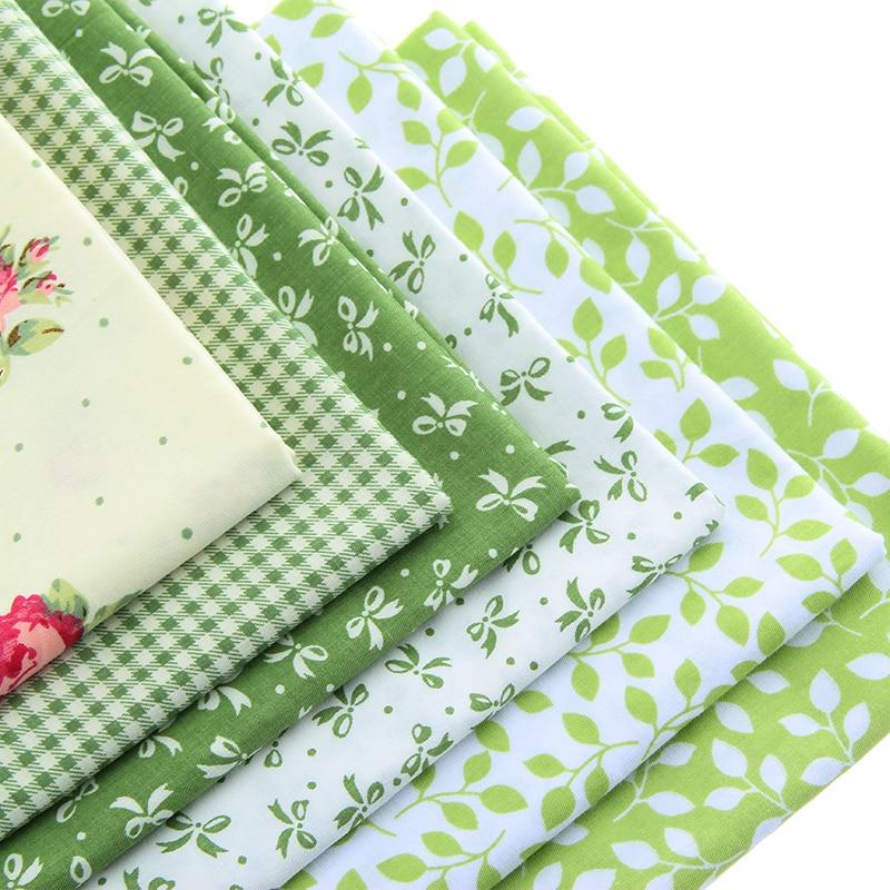 ᐅQUANFANG tejido de algodón tejidos impresos Patchwork para coser ...