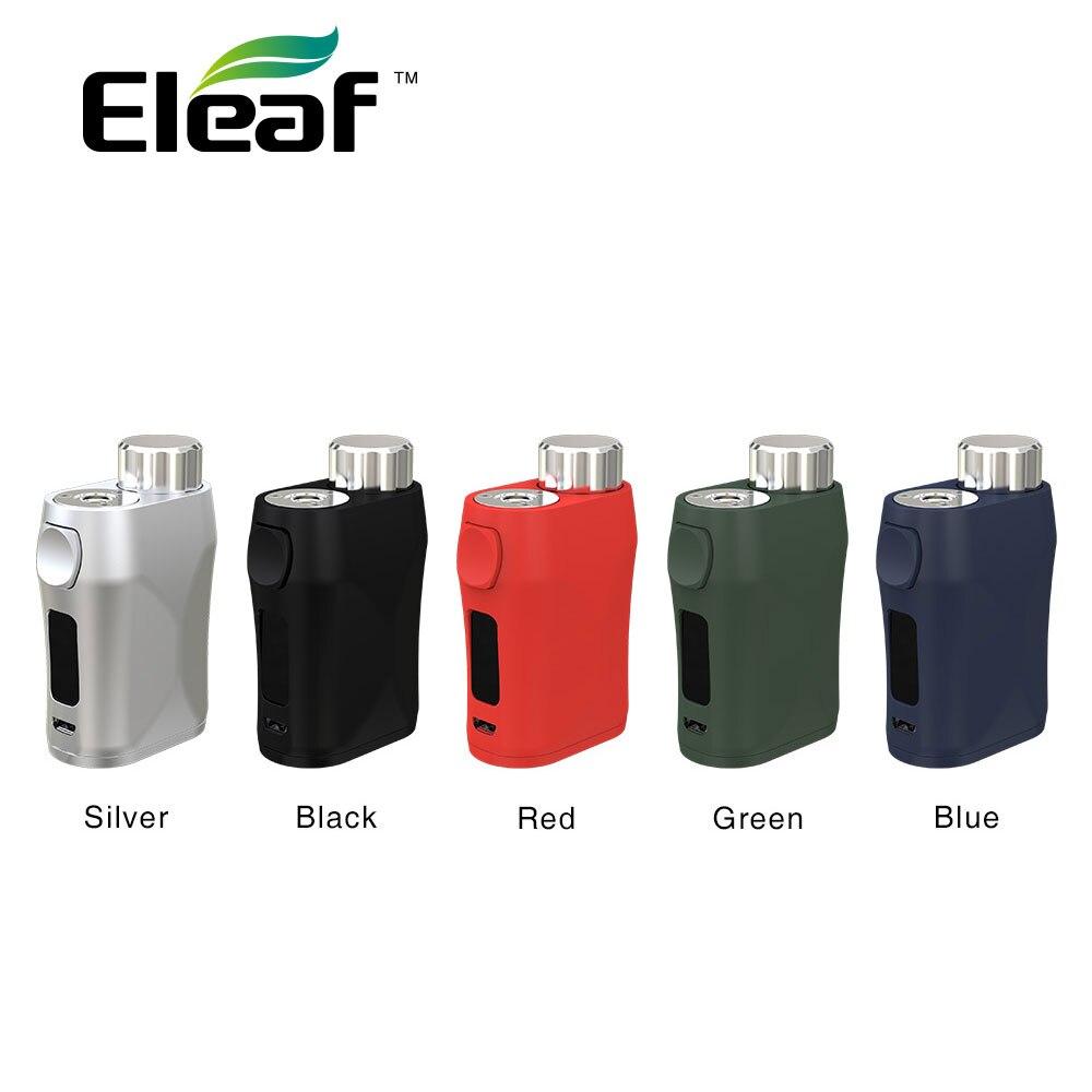 Новый оригинальный 75 Вт Eleaf istick Pico X TC коробка мод с мощностью рекомендующая система и 0,69-дюймовый экран E-cig Vape мод без батареи
