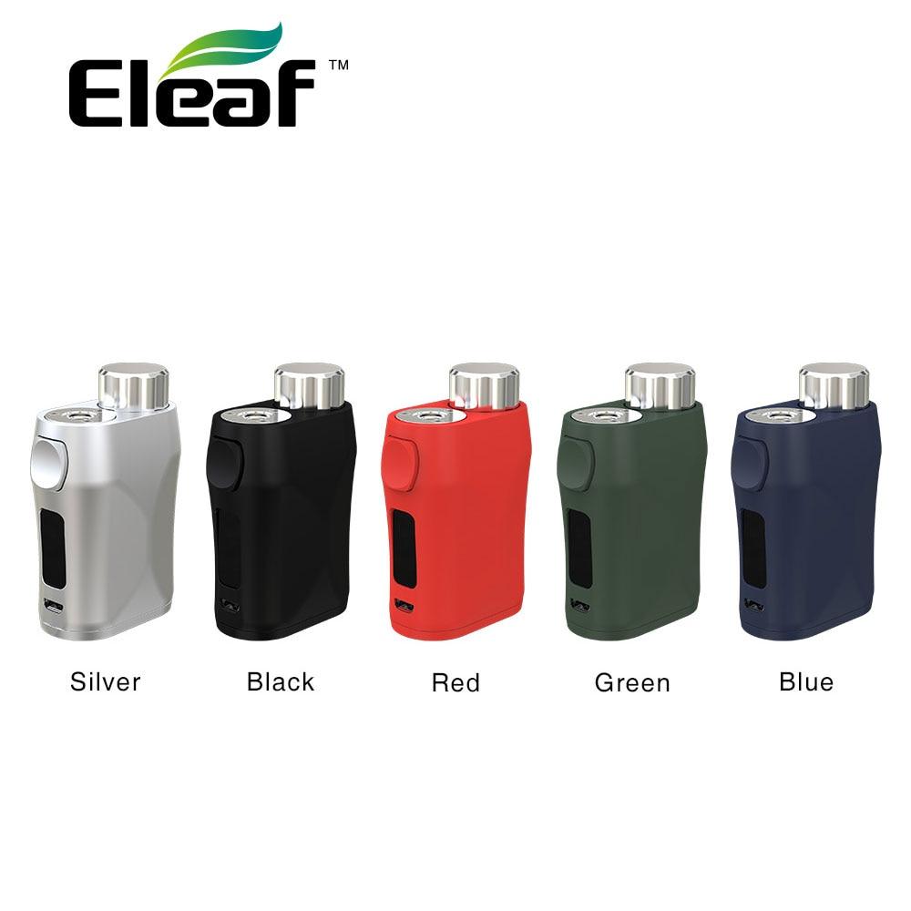 Nouveau Original 75 W Eleaf IStick Pico X TC Box MOD avec système de recommandation de puissance en watts et écran 0.69 pouces e-cig Vape Mod pas de batterie