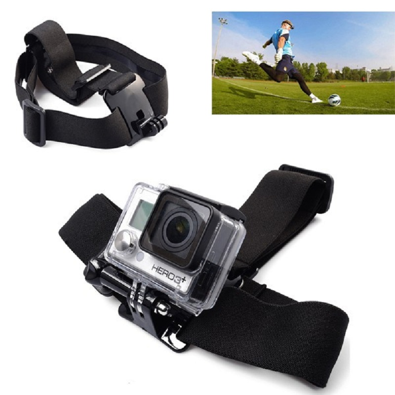 Lightdow Chest Strap + Head Strap+ Handle Monopod + Tripod Adapter For GoPro 6 5 4 3 SJCAM Xiao yi SOOCOO Eken Sport Camera