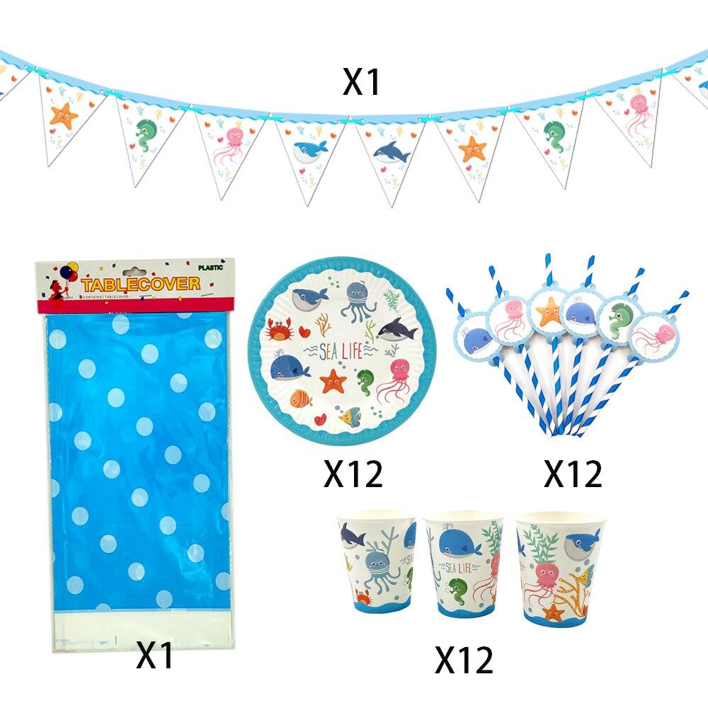98pcs//lot For 12 Kids Batman Theme Birthday Party Decoration Tableware Set