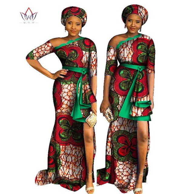 African Dresses For Women 2018 Fashion Dashiki Long Party