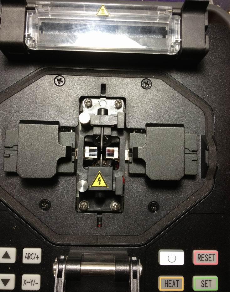 Uchwyt światłowodu CETC41 FUSION SPLICER AV6471 AV6496 AV6496AG DO - Sprzęt komunikacyjny - Zdjęcie 4