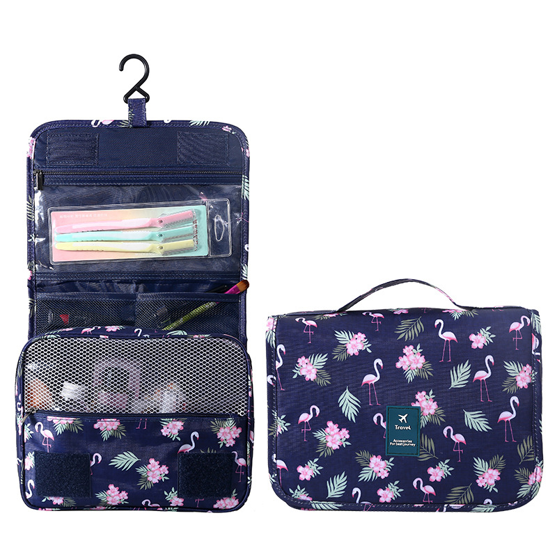 8b53391335b7 Detail Feedback Questions about Flamingo Portable Hanging Cosmetic Bag  Beautician Vanity Necessary Toiletry Organizer Travel Wash Makeup Brush Case  ...