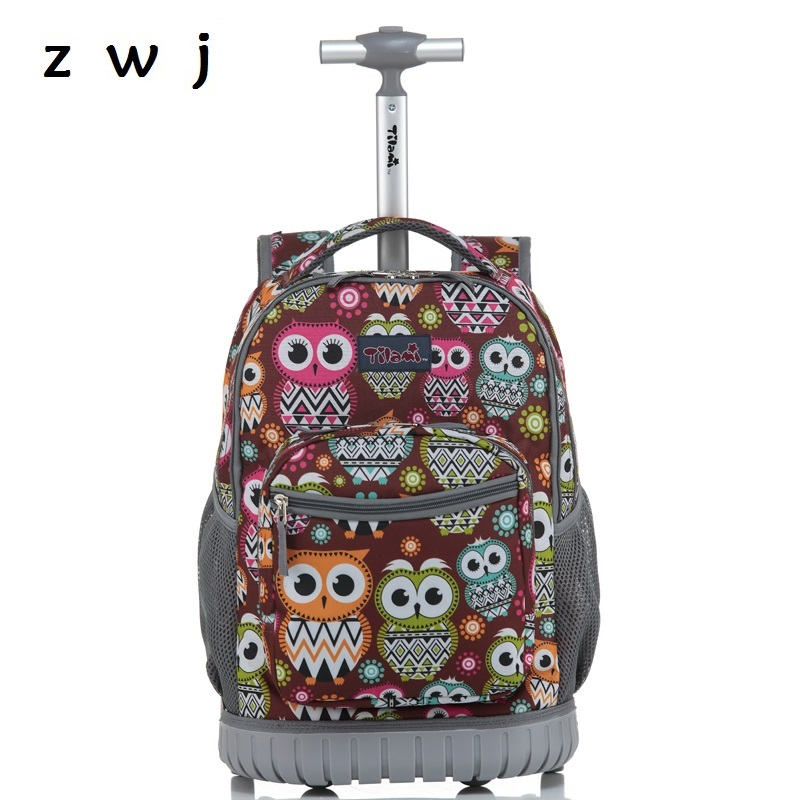 New Printing Travel Trolley Backpack Luggage Bags Waterproof Luggage Carry-ons Suitcases With WheelsNew Printing Travel Trolley Backpack Luggage Bags Waterproof Luggage Carry-ons Suitcases With Wheels