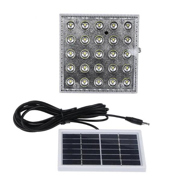 Modern 25 LEDs 6V 1W Rechargeable Solar Panels Camping Lamp Motion Sensor Outdoor Lighting for Garden LED Photo - Luxury motion sensor lamp outdoor Contemporary