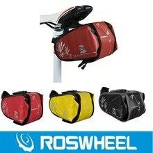 New Roswheel !!! Bike bicycle mountain waterproof Seat saddle bag rear bag Rack Pannier Multifunctional Bag 3 Colors