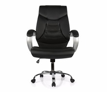 Office Chair Item NO7340 LUXBK Real Genuine Leather Sent from Moscow Warehouse
