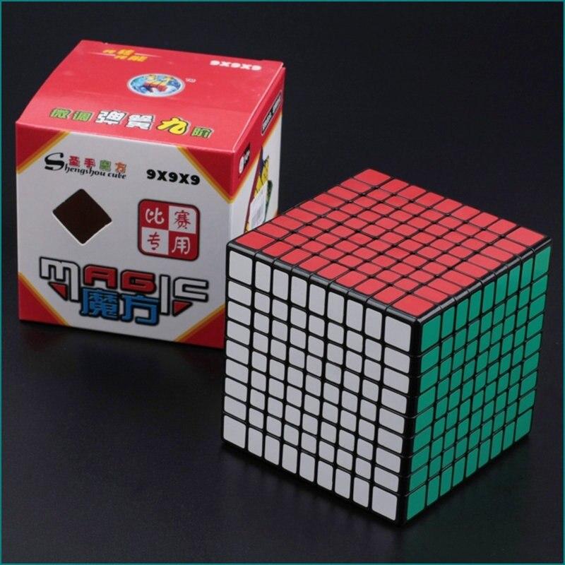 9x9x9 CUBE 9X9 Puzzle Cube Professionnel PVC et Mat Autocollants Cubo Magico Speed Puzzle classique Jouets Apprentissage et L'éducation Jouet - 2