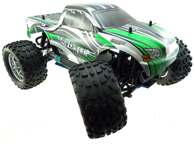 HSP 1/10 Scale Models Nitro Power 4wd Off Road Monster Truck 94188 Pivot Ball Suspension Two Gears High Speed Hobby Rc Car sst racing expedition xmt 1 10 scale go 3 3cc nitro engine power 4wd off road monster truck high speed rc car for hobby