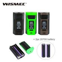 Original WISMEC Reuleaux RX2 200W TC MOD 2x 20700 Battery 6000mAh Max 200W Output Huge Power Vape Mod Vs Reuleaux RX GEN3