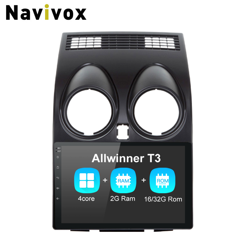 Navivox 9 2 Din Android 6 0 Car GPS Navigation Stereo Audio Player For IX 45