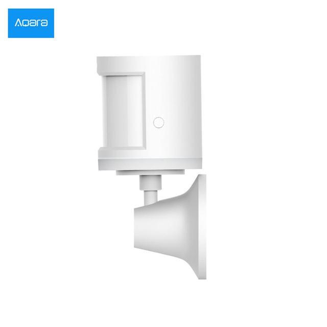 Sensor de cuerpo caliente xiaomi Aqara y sensores de intensidad de luz, zigBee wifi inalámbrico de conexión para xiaomi casa inteligente mi casa APP