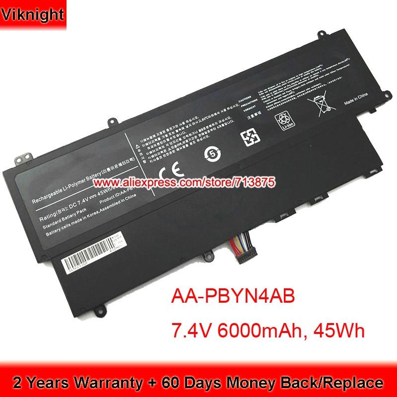 7.4 V 45WH Batterie Pour Samsung Ultrabook NP530U3C NP530U3B-A03RU AA-PBYN4AB NP530U3C-A03 Ordinateur Portable