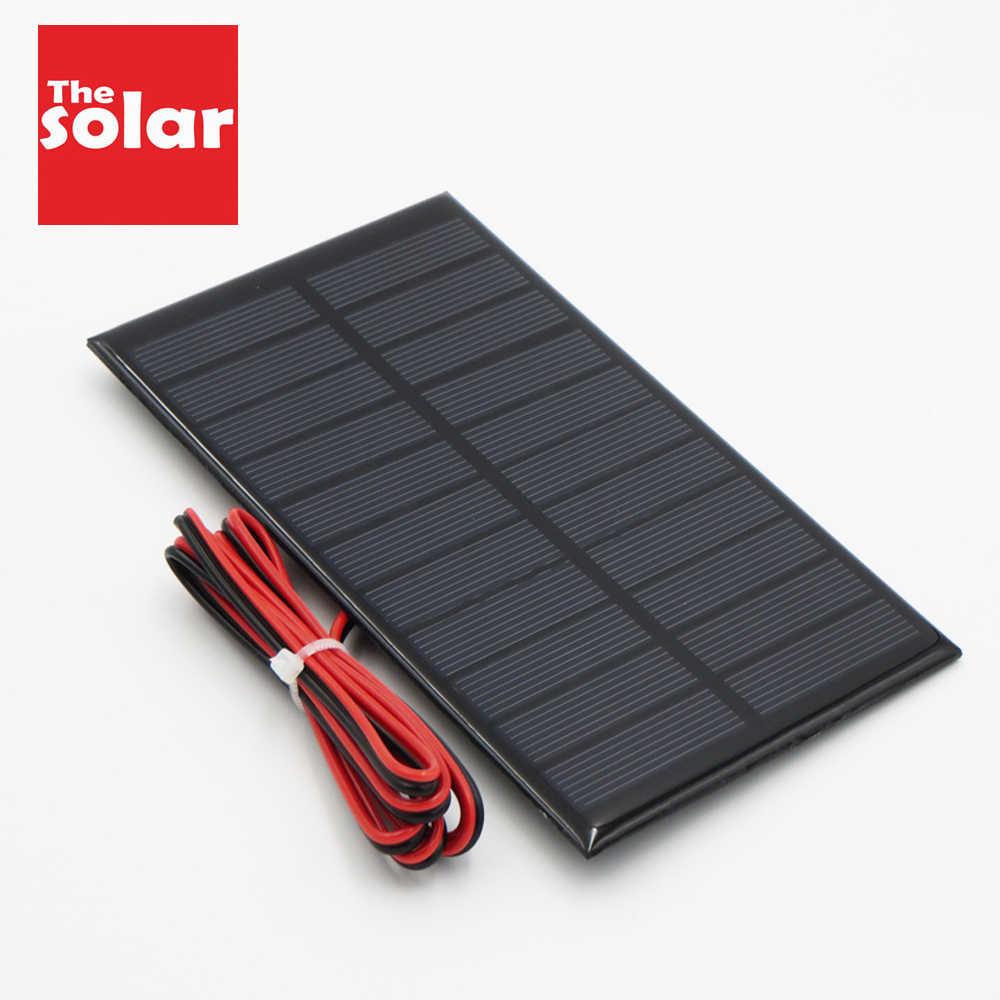 NEW 2 V Mini DIY Solar Panel Modul FÜR Licht Batterie Handy Spielzeug Ladeg Z5M7