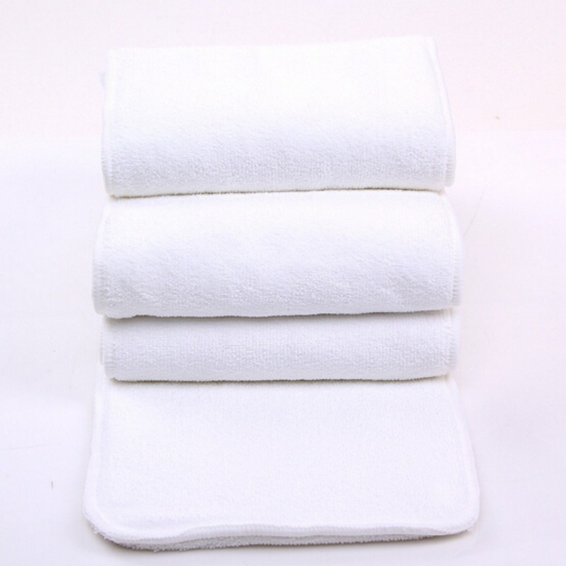 Reusable Adult Diapers Cloth Diaper Inserts 1 piece 4 Layer Insert 100% Cotton Washable adult Care Products Free Shipping