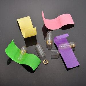 30-120 ⑤ упак. ПВХ сообщение в бутылке с буквенным принтом Милая любовь таблетки полностью чистая мини-бутылка с бумажным писцом для хранения 20x6мм