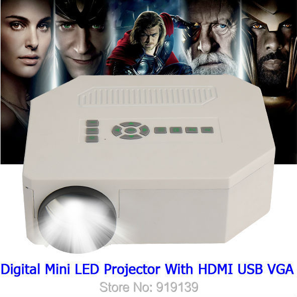 ФОТО Best Seller LED Projector With HDMI USB Beamer Video Projecteur For Home Movie Entertainment